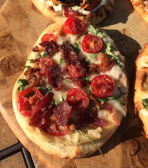 BLT Naan Pizza Recipe