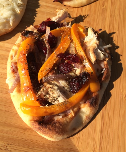 Sweet Craisin Chicken Naan Pizza Recipe